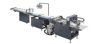 RS-650AH BEHIND SUCTION FEEDING AUTOMATIC GLUING MACHINE